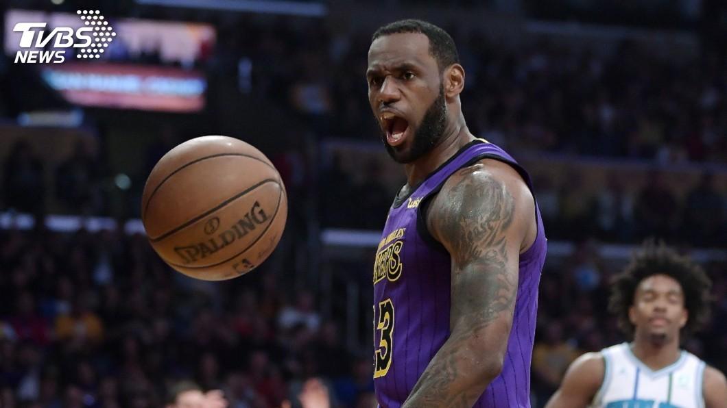 圖/達志影像美聯社 NBA湖人調整先發陣容 詹姆斯傳將擔任控球後衛