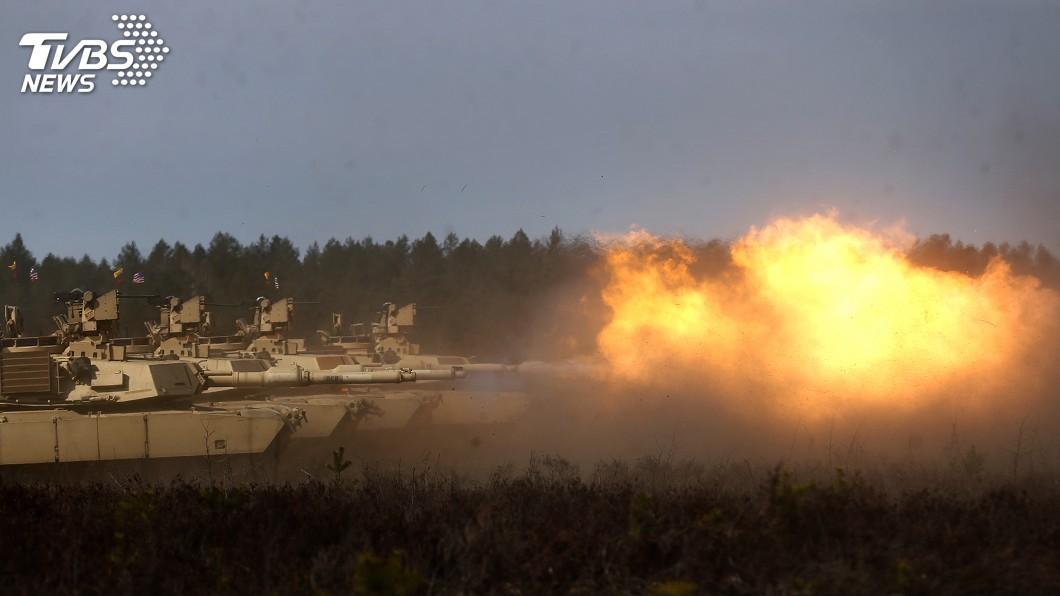 圖/達志影像美聯社 美對台M1A2軍售案 國軍躋身地表最強戰車行列