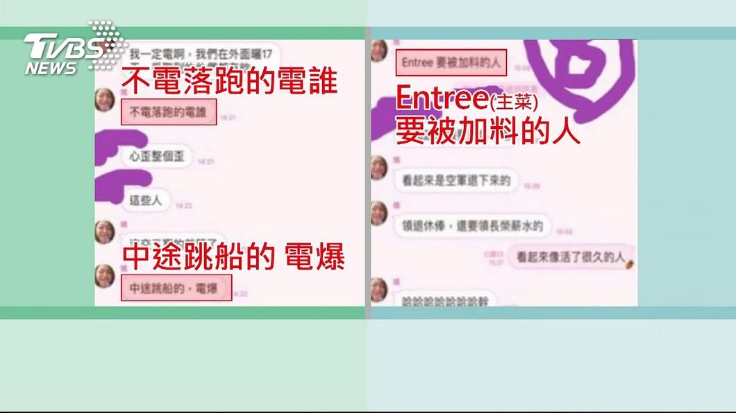 郭芷嫣事後坦承截圖內容是自己說的,不是IT高手編的。圖/TVBS