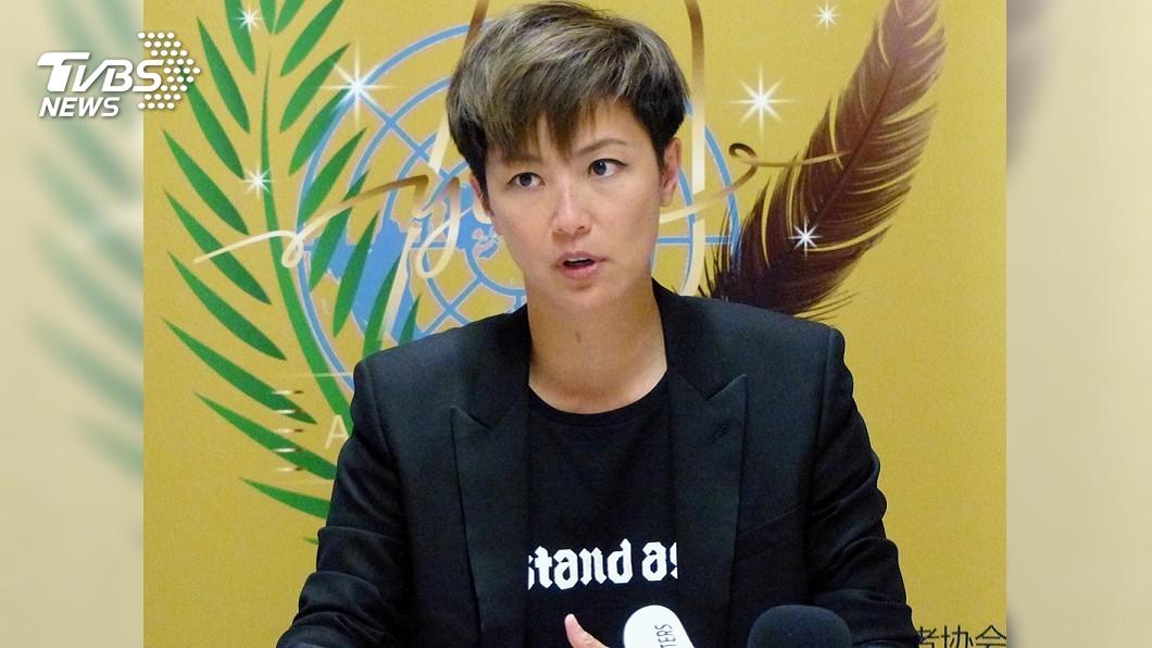 圖/TVBS 何韻詩籲UN「除名中國」 陸外交部:不自量力