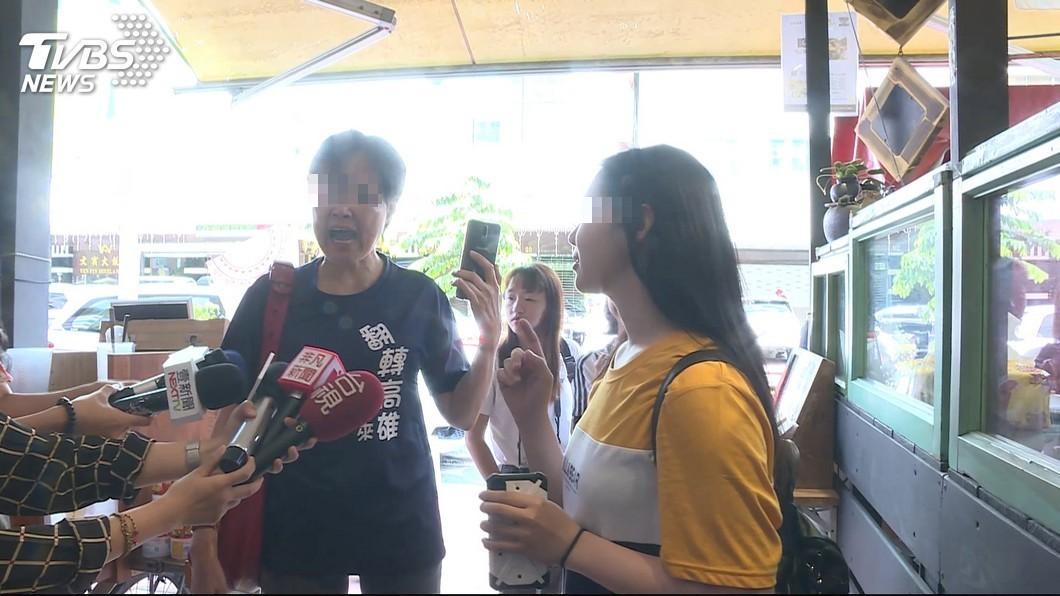 圖/TVBS 18歲女學生遭韓粉霸凌 她淚反擊:你們與惡,沒距離