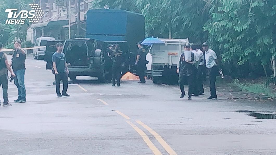 圖/中央社 槍擊犯陳宏宗嘉義大埔拒捕遭擊斃 檢方相驗