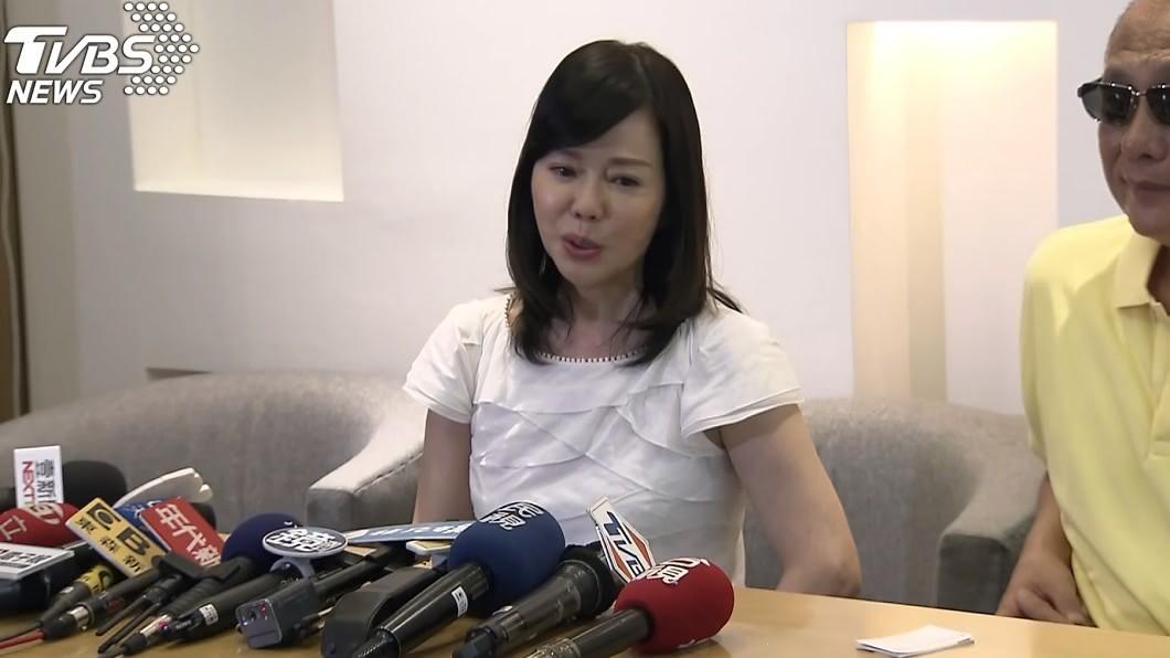 圖/TVBS 赴美救子遭批判!狄鶯點名「這幾人」:他們很可憐