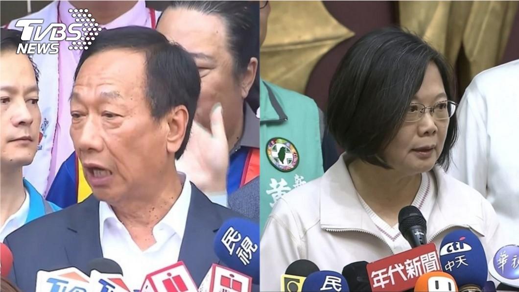 圖/TVBS 桃猿隊交易破局!傳政治力介入 郭台銘怒批小英「陰險」