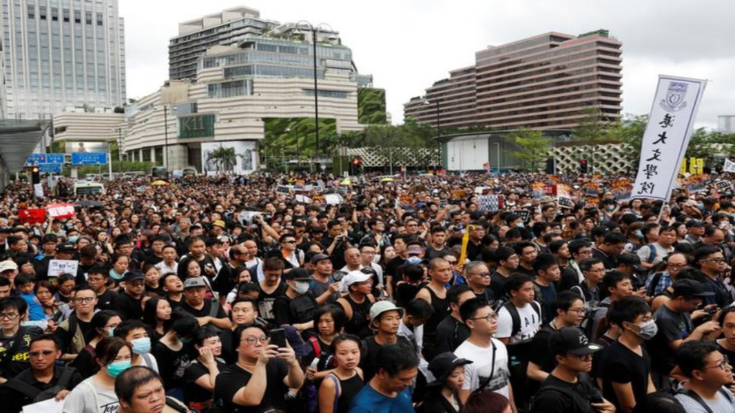 圖/達志影像路透 反送中落幕? 香港青年不滿政治閉塞