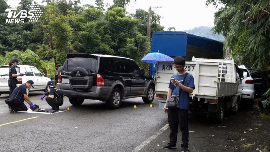 圖/中央社 通緝犯陳宏宗拒捕疑被擊斃 警查扣改造槍彈