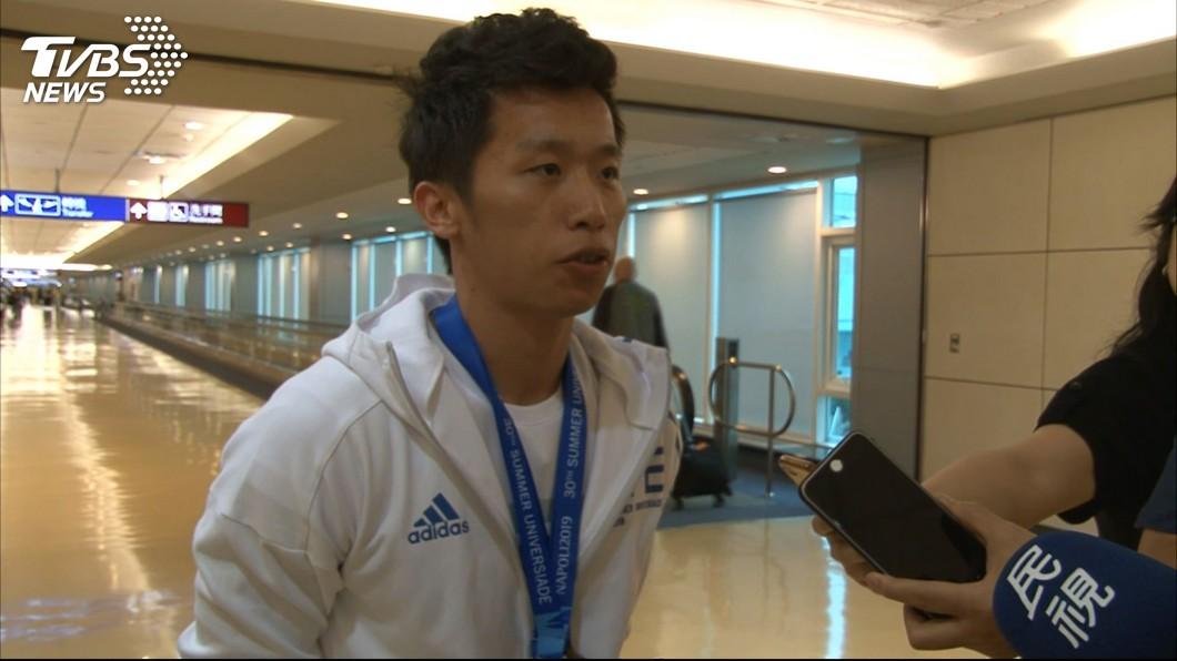 圖/TVBS 李智凱備戰世錦賽 盼中華隊取得奧運團體賽資格