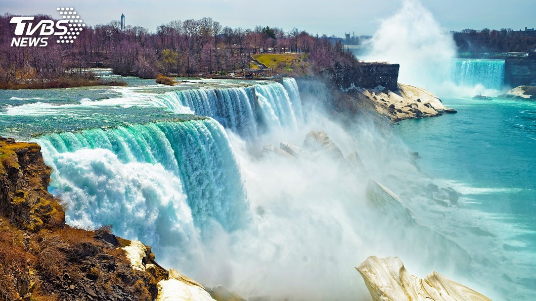 示意圖/TVBS 墜落57公尺高尼加拉瀑布 男子輕傷倖存