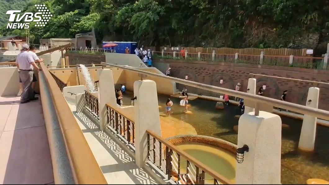 圖/TVBS 消暑好去處!宜蘭蘇澳冷泉公園試營運 大眾池免費試玩