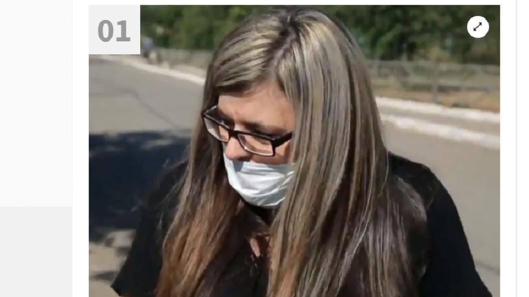 圖/翻攝自  Habertürk  推特 產後長「滿臉鬍鬚」 女戴口罩7年:老公不敢親我