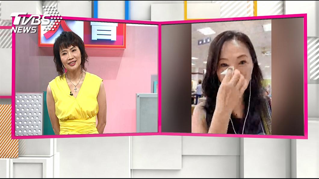 《國民大會》主持人陳鳳馨與李佳芬連線。圖/TVBS