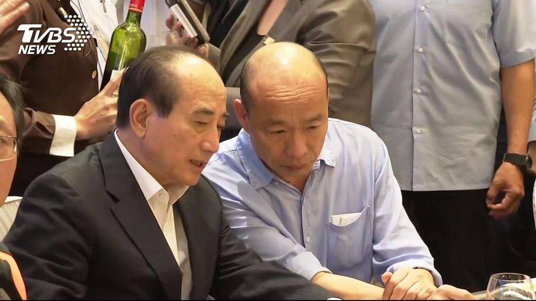 圖/TVBS 王金平表態拒當副手 韓國瑜:仍推動黨內整合