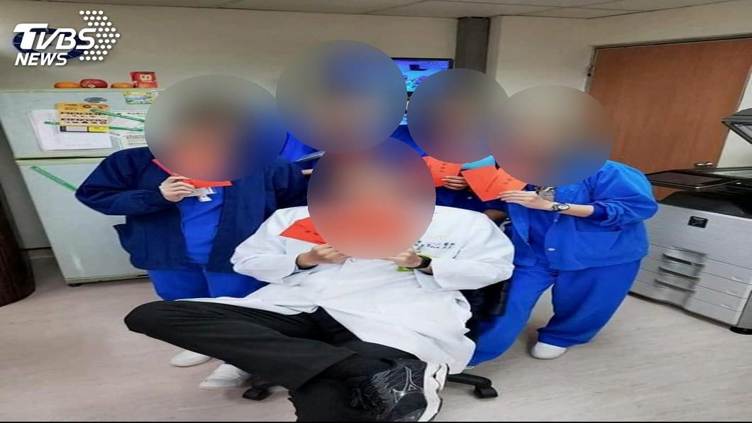 圖/TVBS 女病患控醫伸狼爪 診間內遭掀衣觸胸