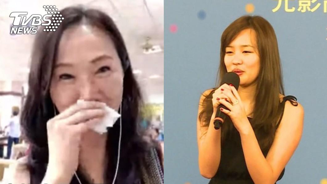 圖/TVBS 韓冰返台「1週就受不了」 李佳芬淚崩:我不是鋼鐵人