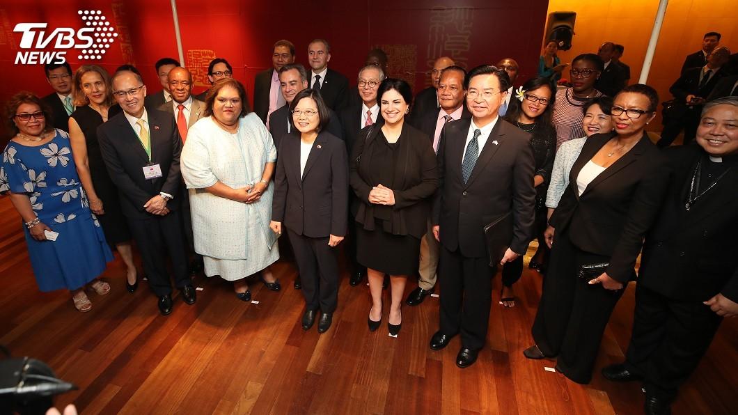 圖/中央社 堅定參與國際社會 總統盼友邦在聯大力挺台灣