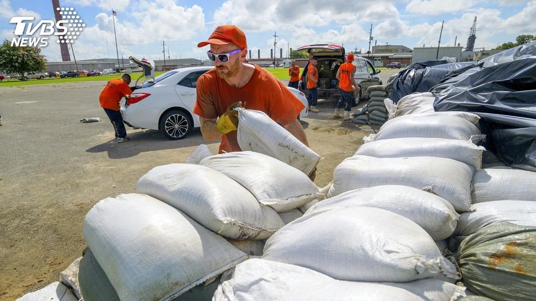 圖/達志影像美聯社 熱帶風暴進逼 美路易斯安那州宣布緊急狀態