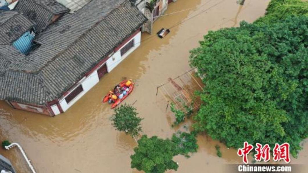 60年最強暴雨罩江南華南 未來一周將再迎2輪