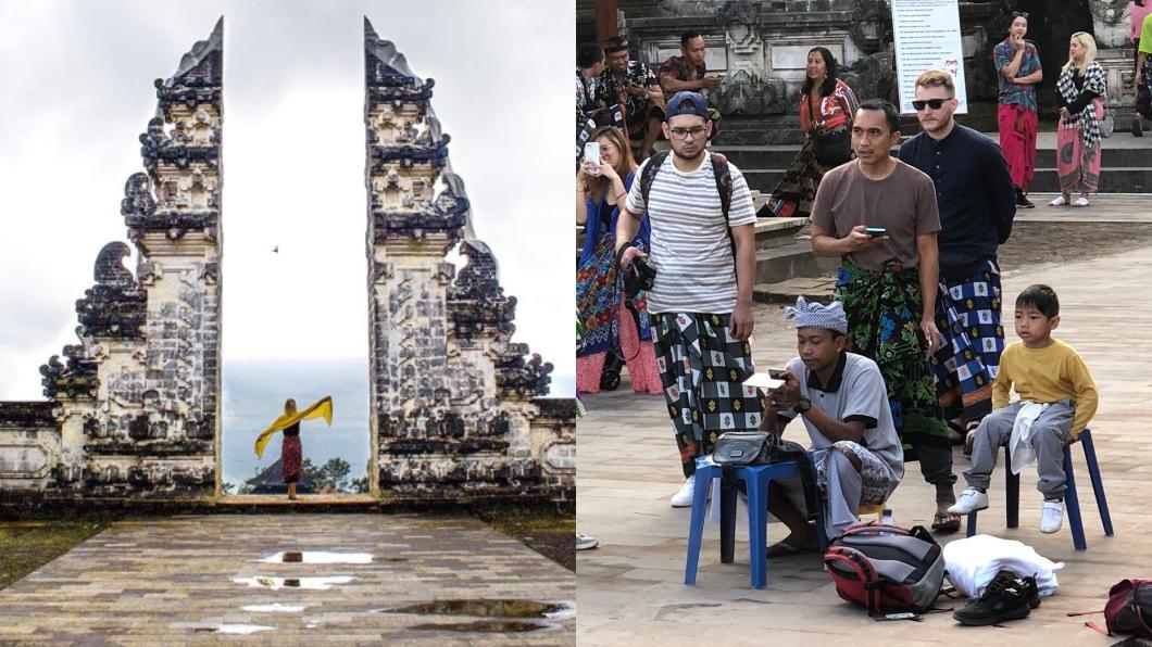 原來這些都是「人造」美照。圖/翻攝自IG@anneharding_travel(左);推特@Polina Marinova(右)
