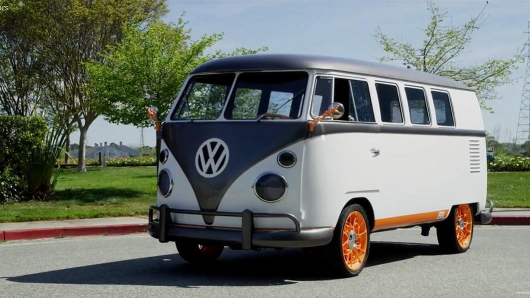 圖/翻攝自Roadshow 經典露營車變聰明 福斯推純電概念露營車