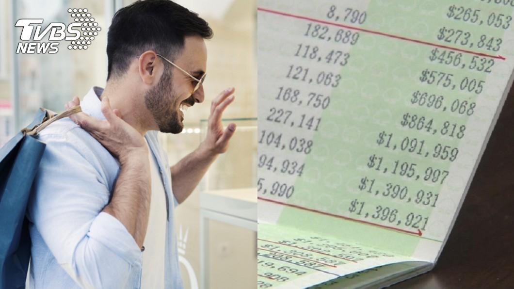 示意圖,與本文無關。圖/TVBS 他秀「9位數存款」曝富豪的日常 網一看全跪了
