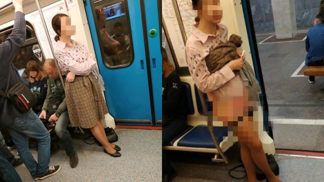 圖/翻攝自臉書 求讓座遭拒!馬尾妹暴怒「掀裙脫內褲」 裸露下體罵乘客