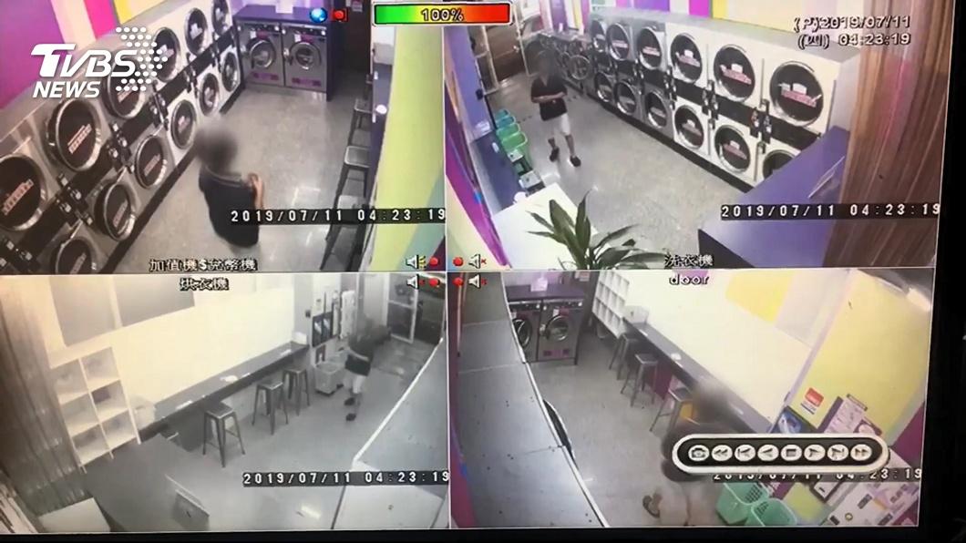 圖/TVBS 內衣大盜偷翻烘衣機 凌晨、清晨易出沒