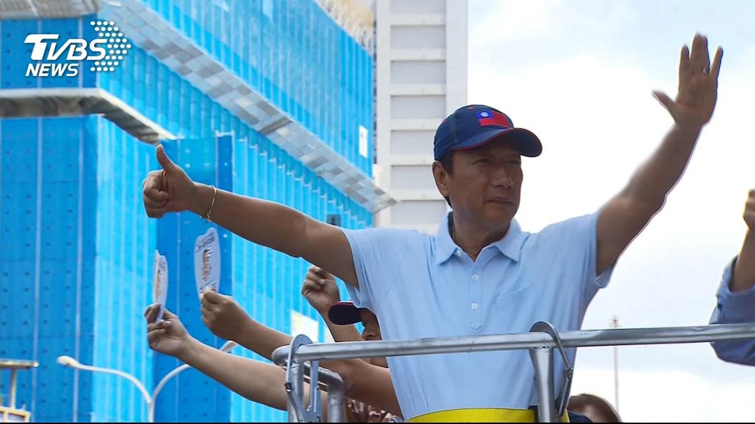 圖/TVBS資料照 「台灣需要敢壞的英雄」 他曝:只有郭台銘能勝任