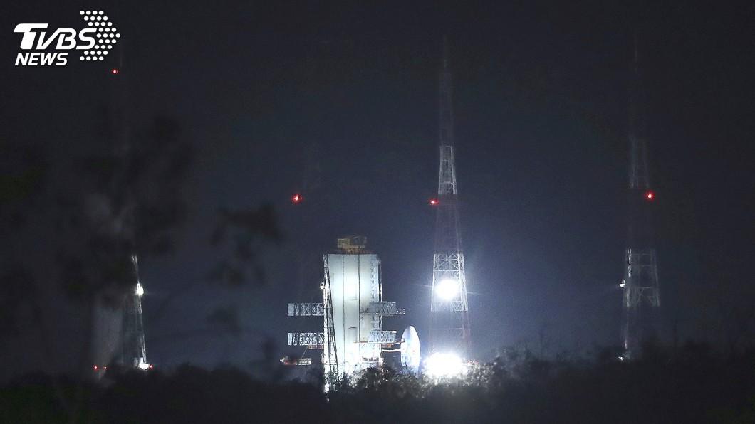 圖/達志影像美聯社 火箭發射剩不到一小時 印度登月計畫突喊卡