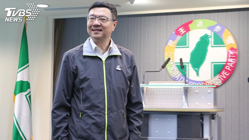 圖/中央社 柯批藍綠禁雙重黨籍 卓榮泰:歡迎加入民進黨