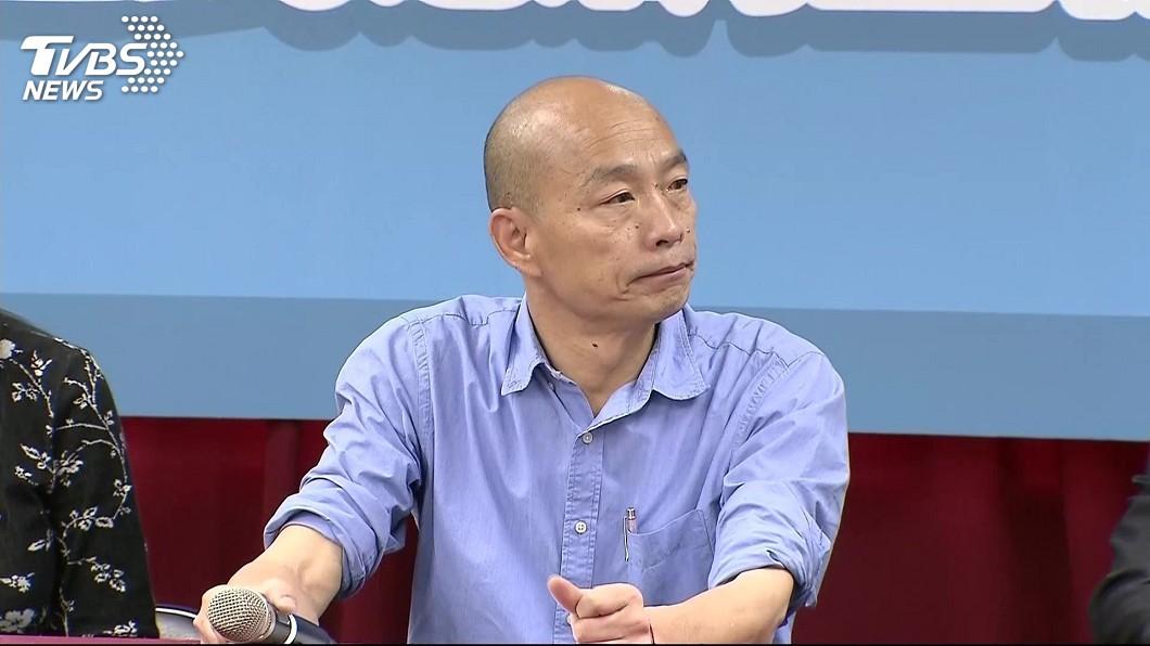 圖/TVBS 勝選拚團結 韓國瑜將拜會朱立倫、郭台銘