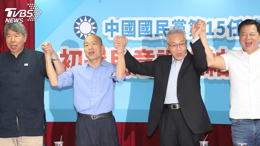 國民黨公布初選對比民調 韓國瑜大勝柯、蔡