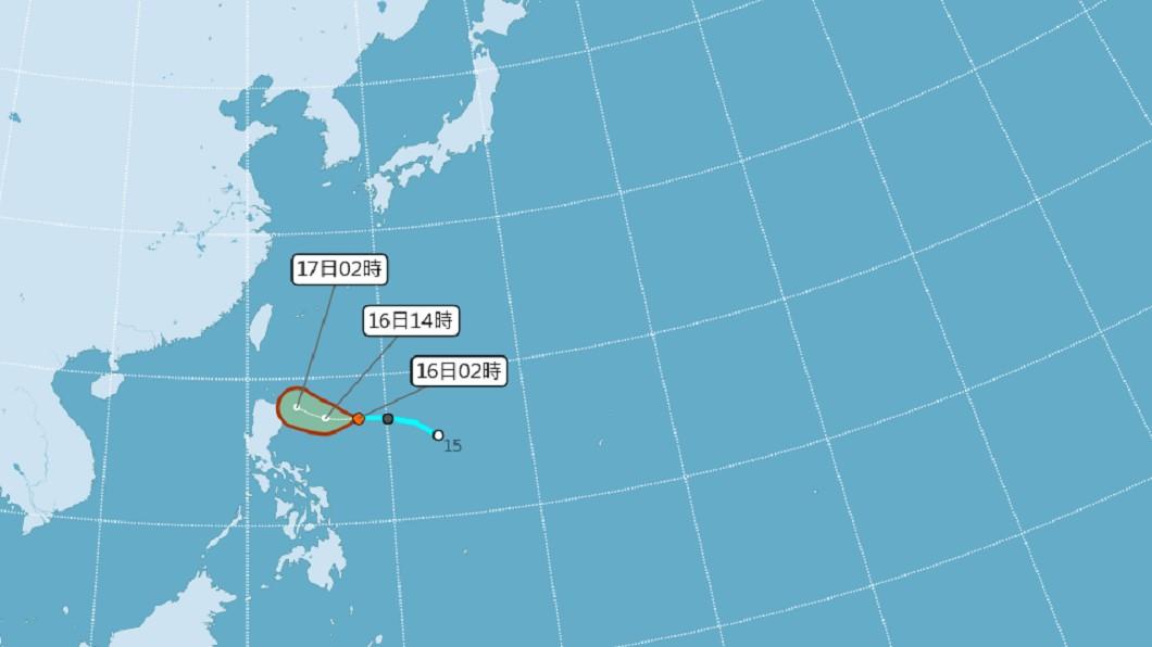 圖/中央氣象局 颱風最快今生成!北上恐成「穿心颱」 這2天全台轉有雨