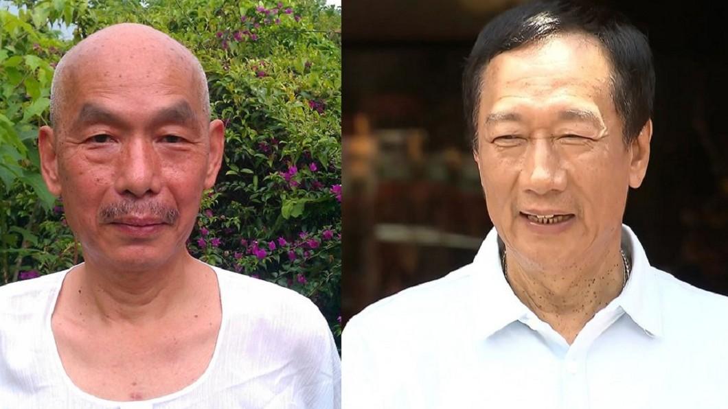 前立委林正杰(左)、鴻海創辦人郭台銘(右)。圖/翻攝自林正杰臉書、TVBS 郭台銘總統初選失利 挺郭的他宣布退出國民黨