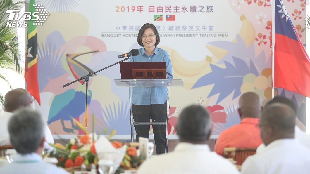 圖/中央社 國際媒體報導創新高! 吳釗燮:蔡總統出訪非常成功