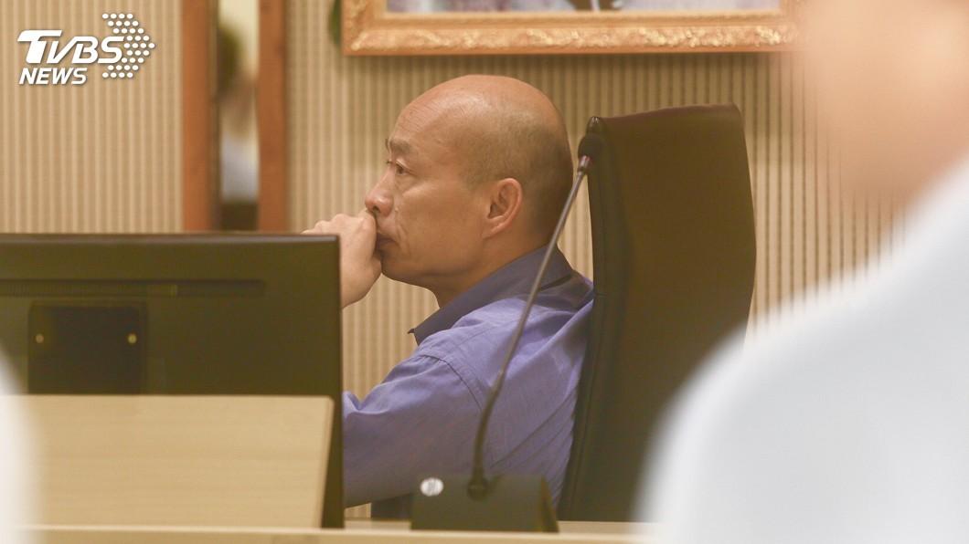 圖/中央社 國民黨總統初選勝出 韓國瑜今返市府主持市政會議