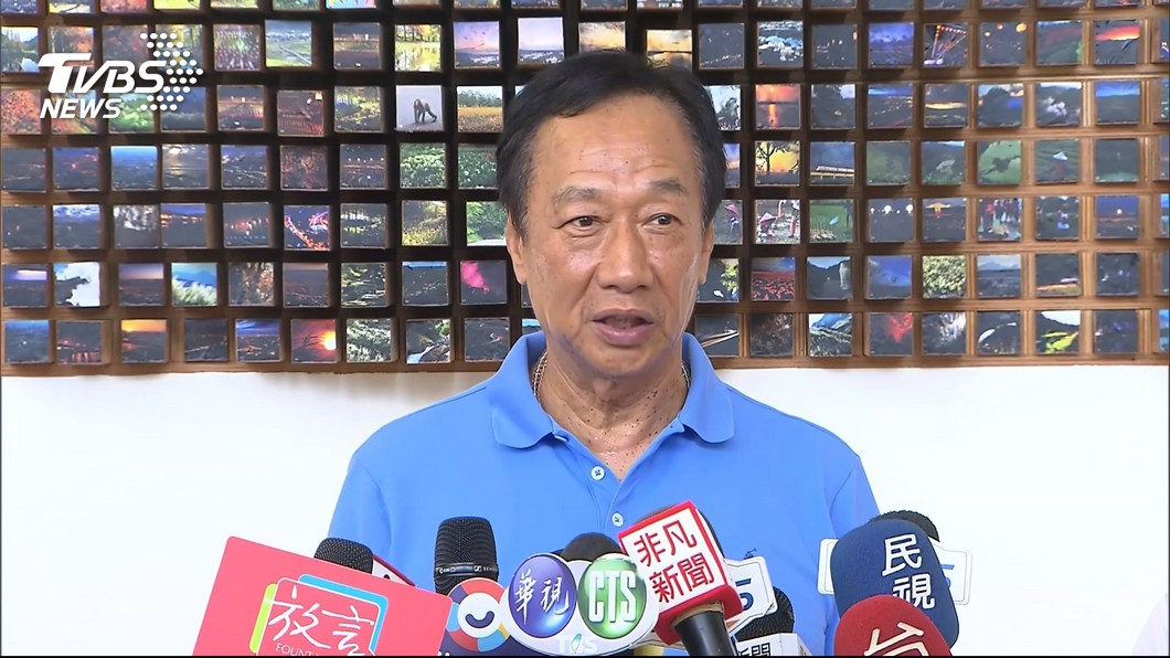 圖/TVBS 從未期待「換瑜」 幕僚:郭台銘不會代表國民黨參選