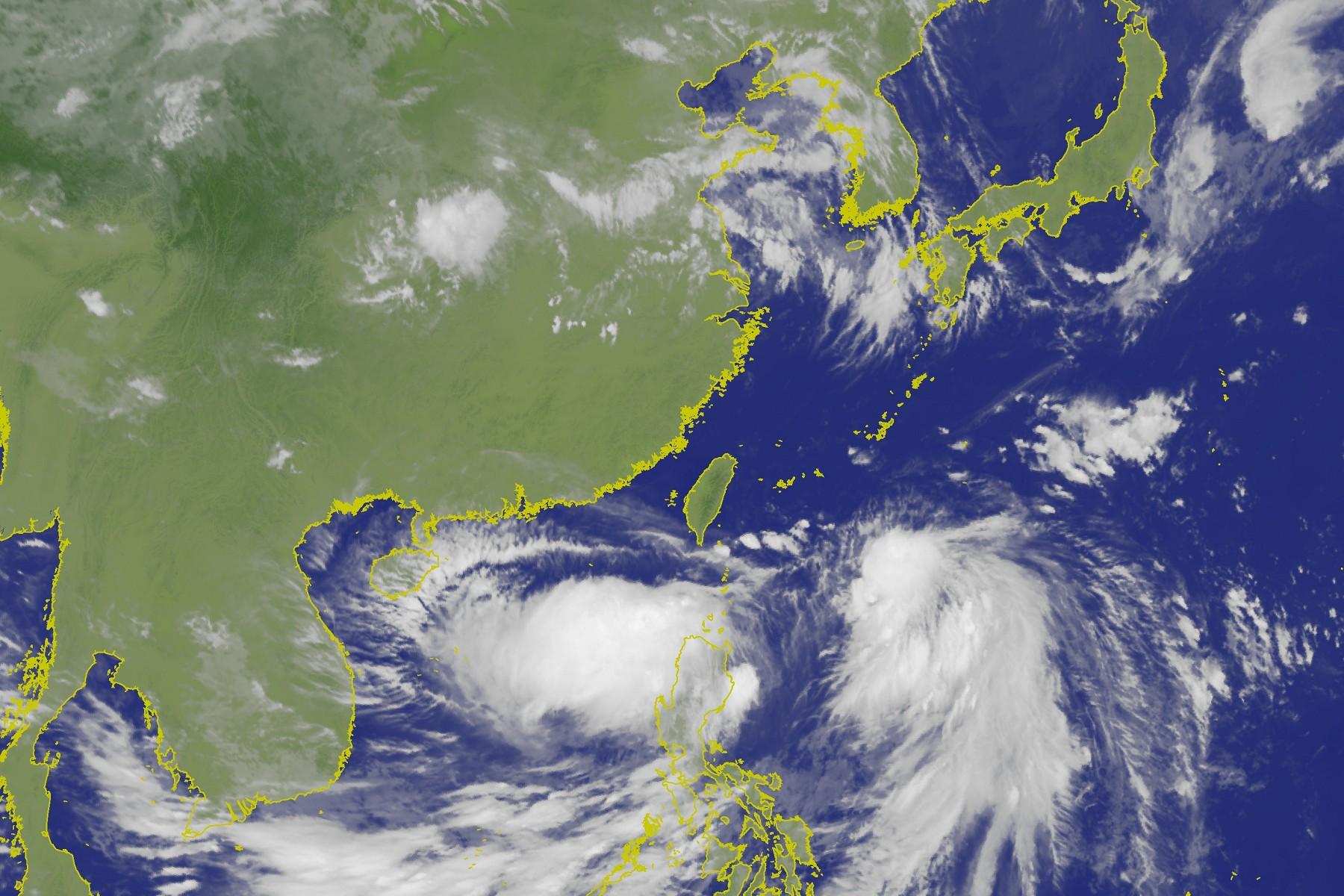 圖/中央氣象局 快訊/北部高溫38度 14:07用電量破今年歷史新高