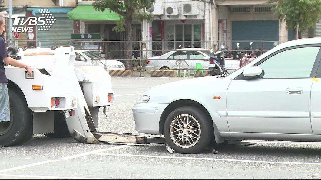 示意圖/TVBS 北市處理久占停車格要45天 柯文哲批太耗時