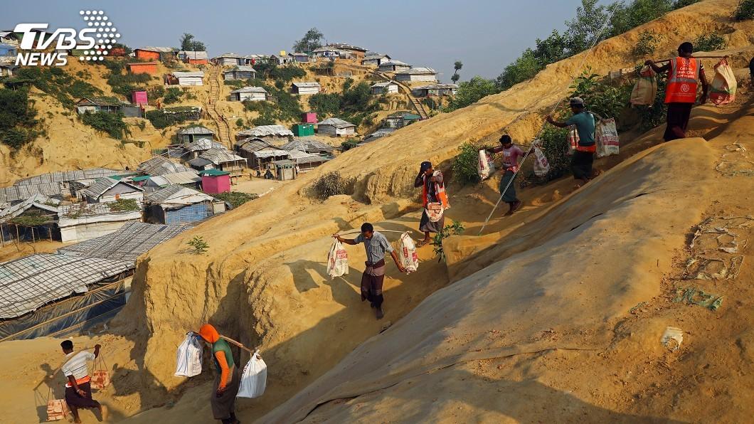 圖/達志影像路透社 迫害洛興雅人權 美宣布制裁緬甸軍方總司令