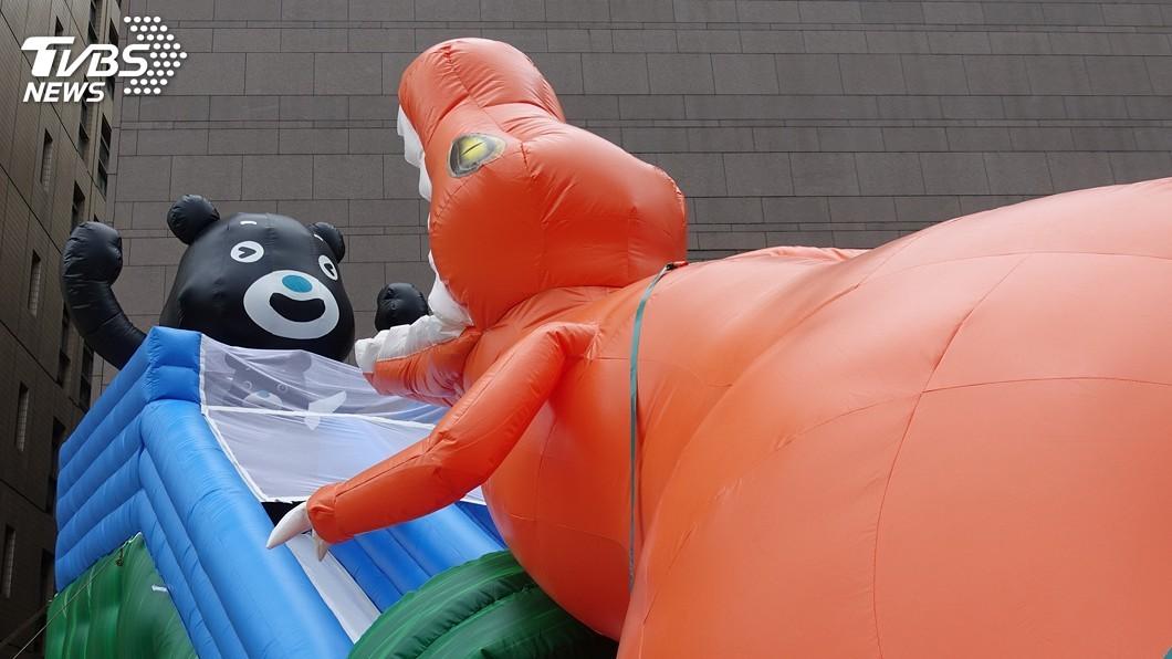 圖/中央社 颱風丹娜絲逼近 台北河岸童樂會兩天活動取消