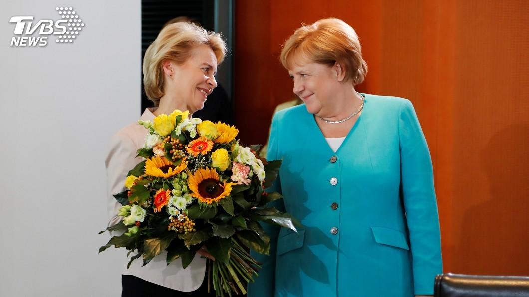 圖/達志影像路透社 歐盟執委會首位女主席 范德賴恩是人生勝利組