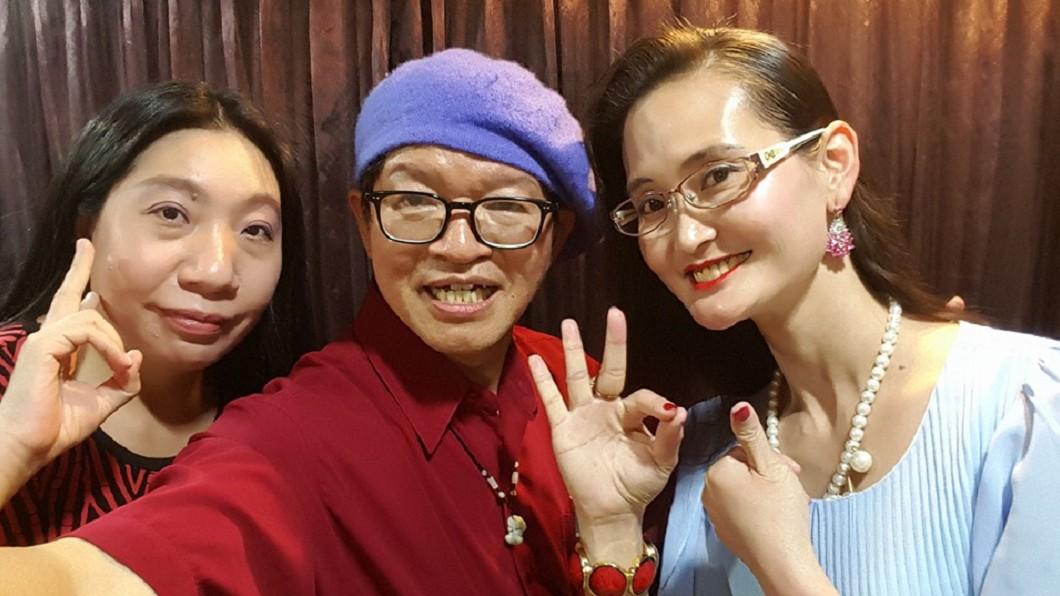 左起分別為如花、湯尼陳、慧慈。圖/翻攝自湯尼陳臉書