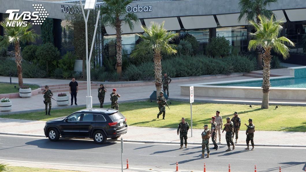 圖/達志影像路透社 伊拉克北部武裝攻擊 土耳其:外交官遭鎖定一死