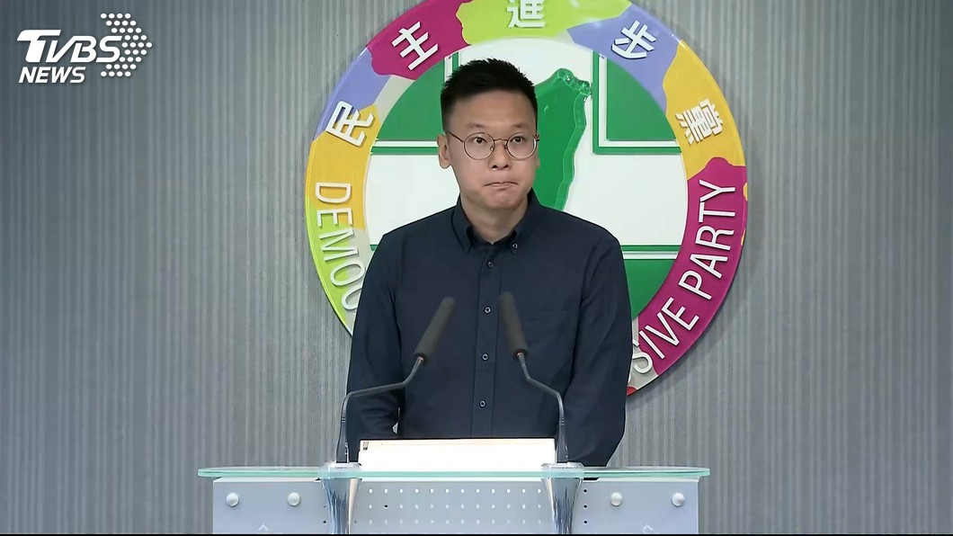 民進黨副秘書長的林飛帆。圖/TVBS資料照 林飛帆喊打造非韓家園 他酸:起薪9萬的「飛帆家園」?