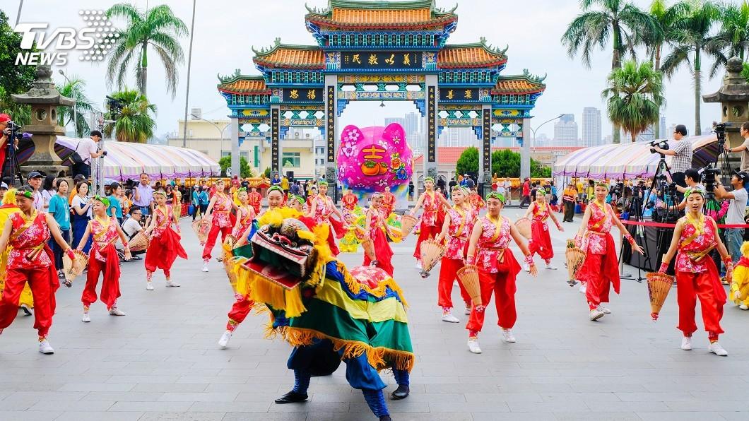 圖/中央社 全國義民祭在新竹縣 推廣客家文化