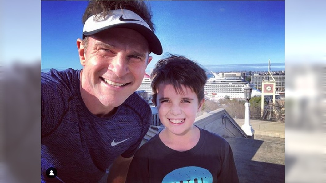 坎貝爾和兒子比利。圖/翻攝davidcampbell73 IG