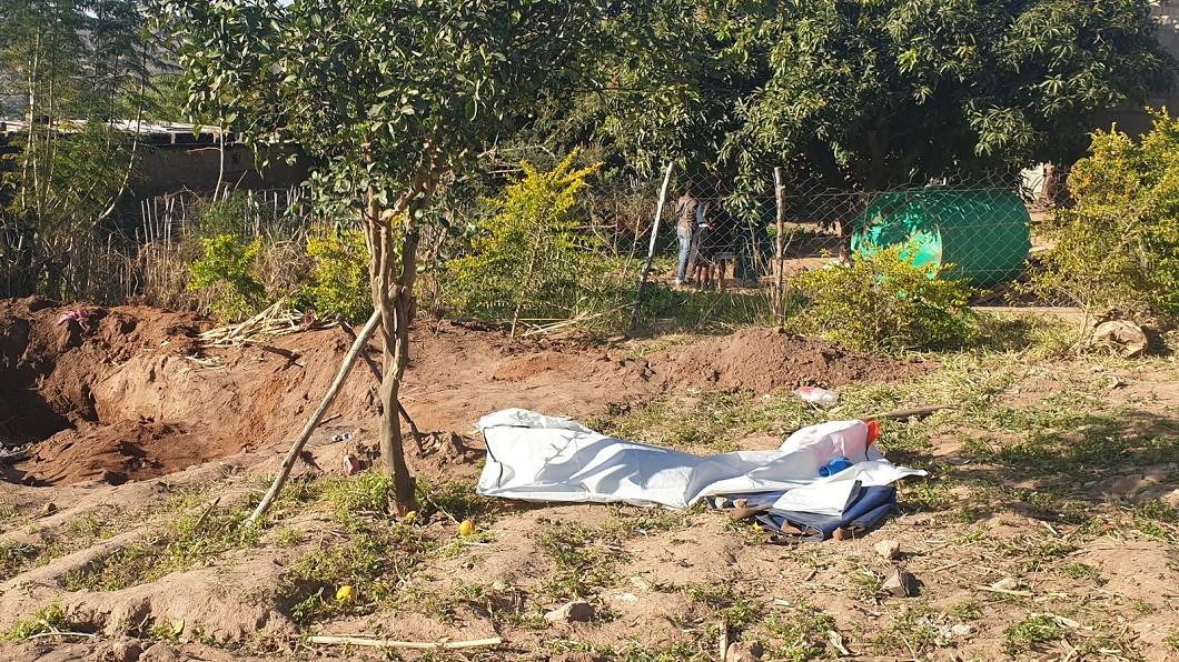 穆達威家的院子。圖/翻攝mwelimasilela推特