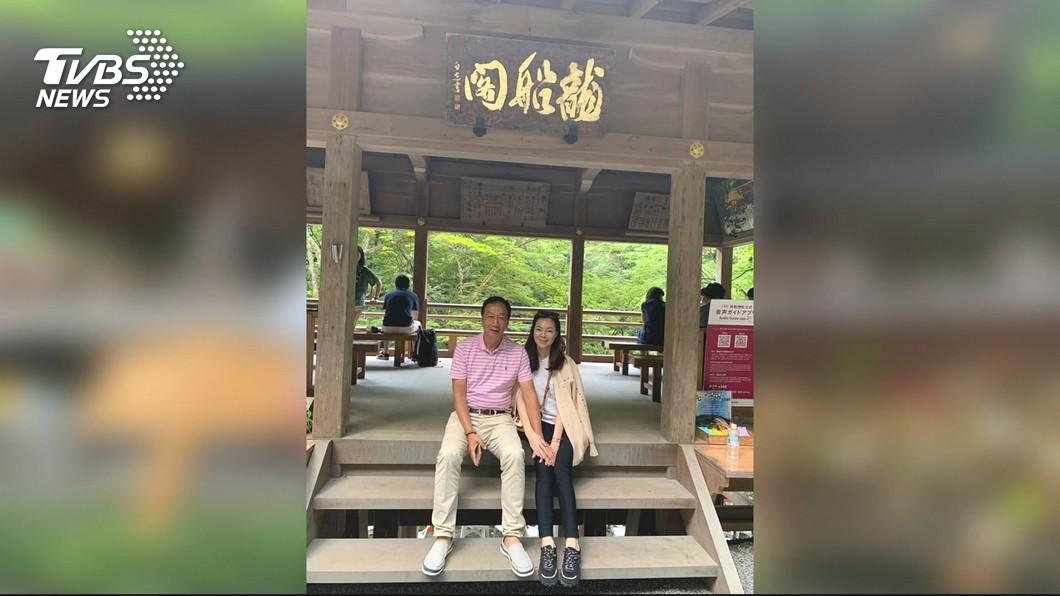 圖/TVBS 沉澱2天再發文 郭董赴日會友尋台商機