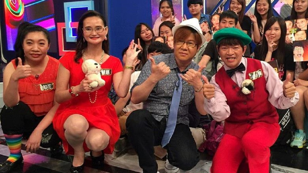 「蘆薈雞湯」團員:(左起)如花、慧慈、好娜姬、湯尼陳。(圖/翻攝自好娜姬臉書)