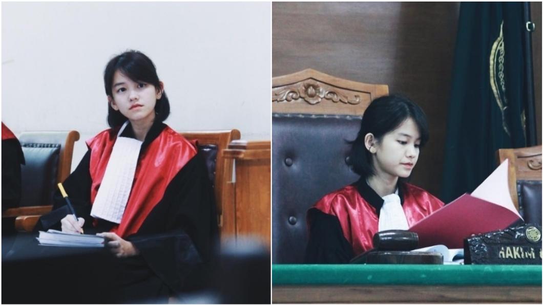 圖/翻攝自leanna.leonardo Instagram 童顏女法官一夕爆紅 「學霸背景曝光」網友暴動